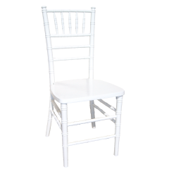 Wood Chiavari Chair-White