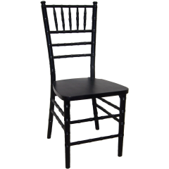 Wood Chiavari Chair-Black