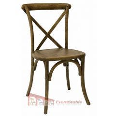 Cross Back (X-back) Chair - Light Natural