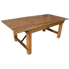 7Ft Farm Table-Rustic