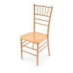 Wood Chiavari Chair - Natural